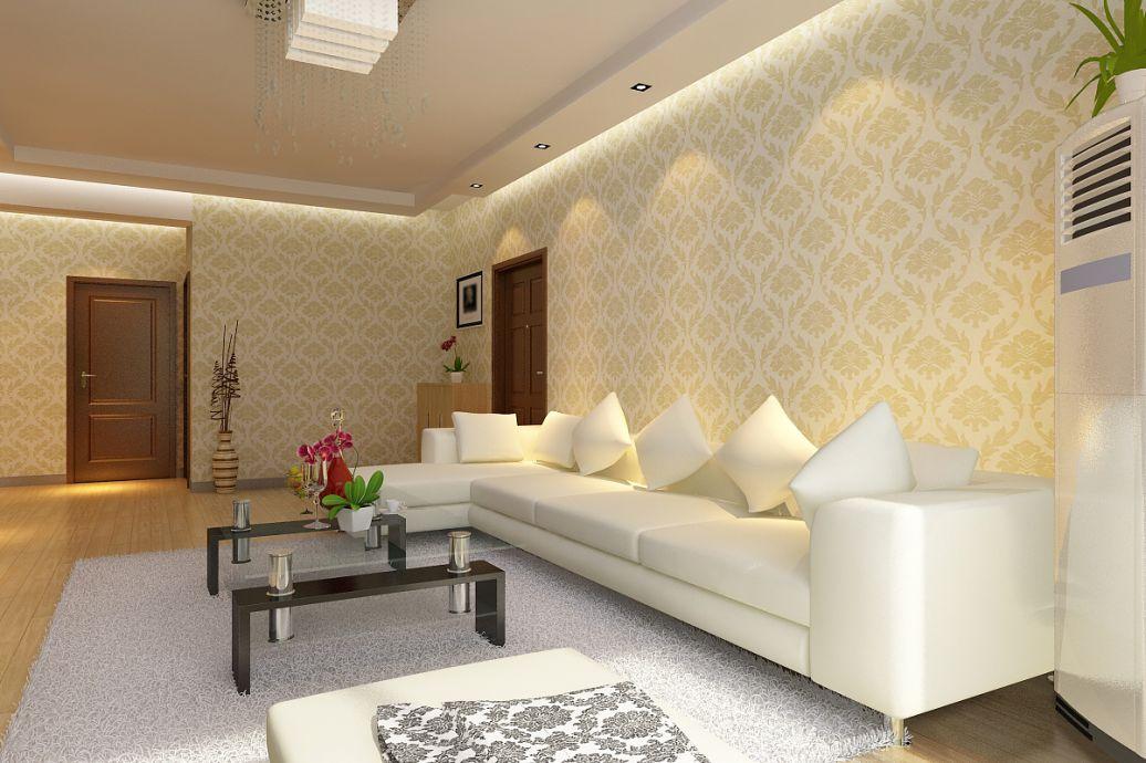 深灰色的电视墙配什么颜色的壁纸好看